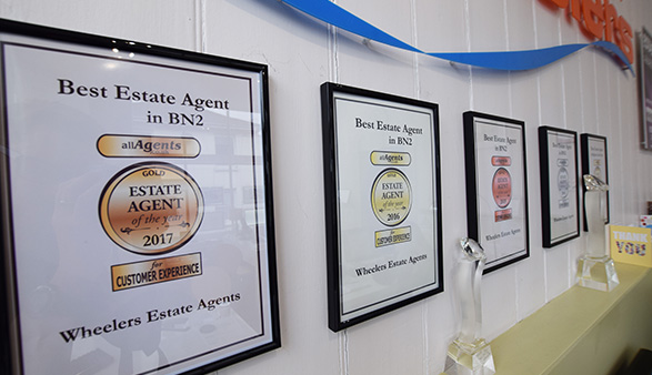 Wheelers Estate Agents are Award Winners in Brighton